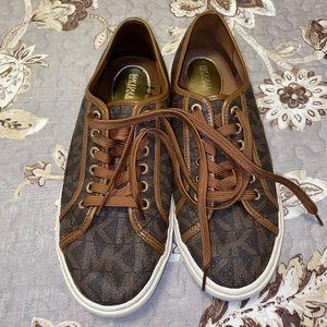 Michael Kors Brown Sneakers 9